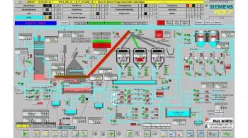中龍鋼鐵#1號及#2號高爐爐渣水淬系統儀電工程